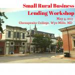 Small Rural Business Lending Workshop 1