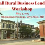 Small Rural Business Lending Workshop