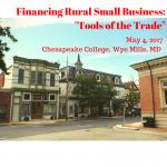 Small Rural Business Lending Workshop 2