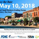 UPDATED Save the Date – Rural Small Business Lending Forum